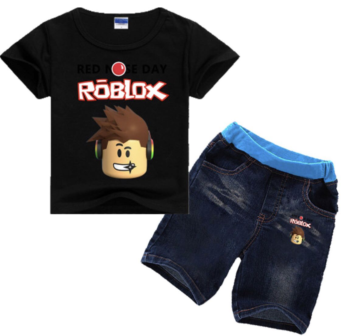 New Roblox shirt boys sizes XS S M L XL Roblox shirt boys