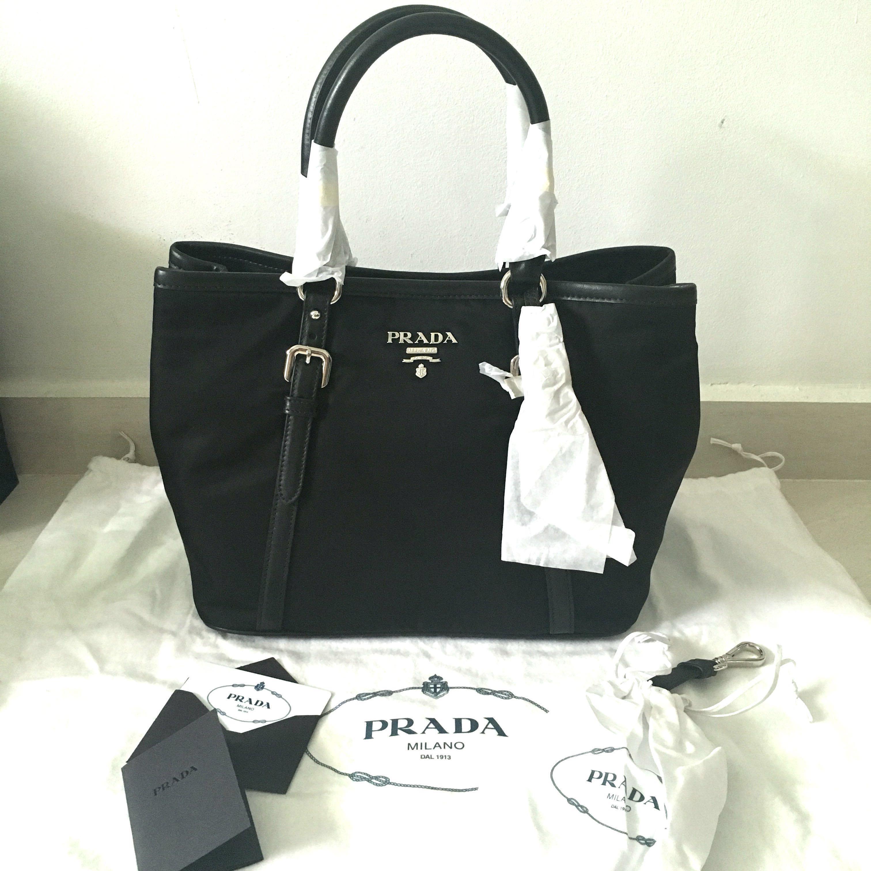 ba31cd38d6f2 BRAND NEW - Prada Bauletto Aperto Convertible Bag BN1841