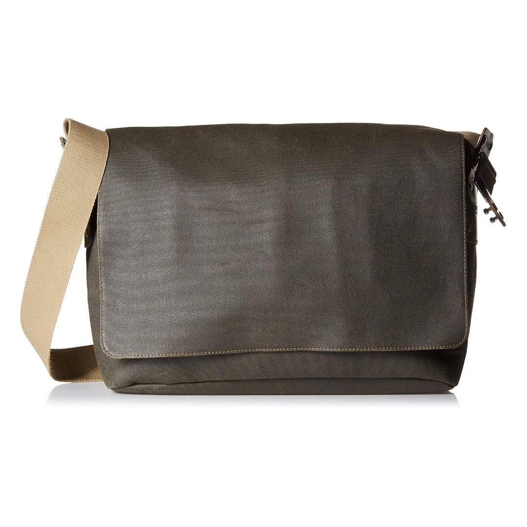 1dbe31a0d76 Brooks England Barbican Canvas Leather Shoulder Bag HANDMADE IN ...
