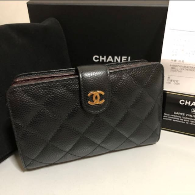 5fef361ac2ca Chanel Caviar Wallet medium (SUPERB condition, 100% authentic and ...