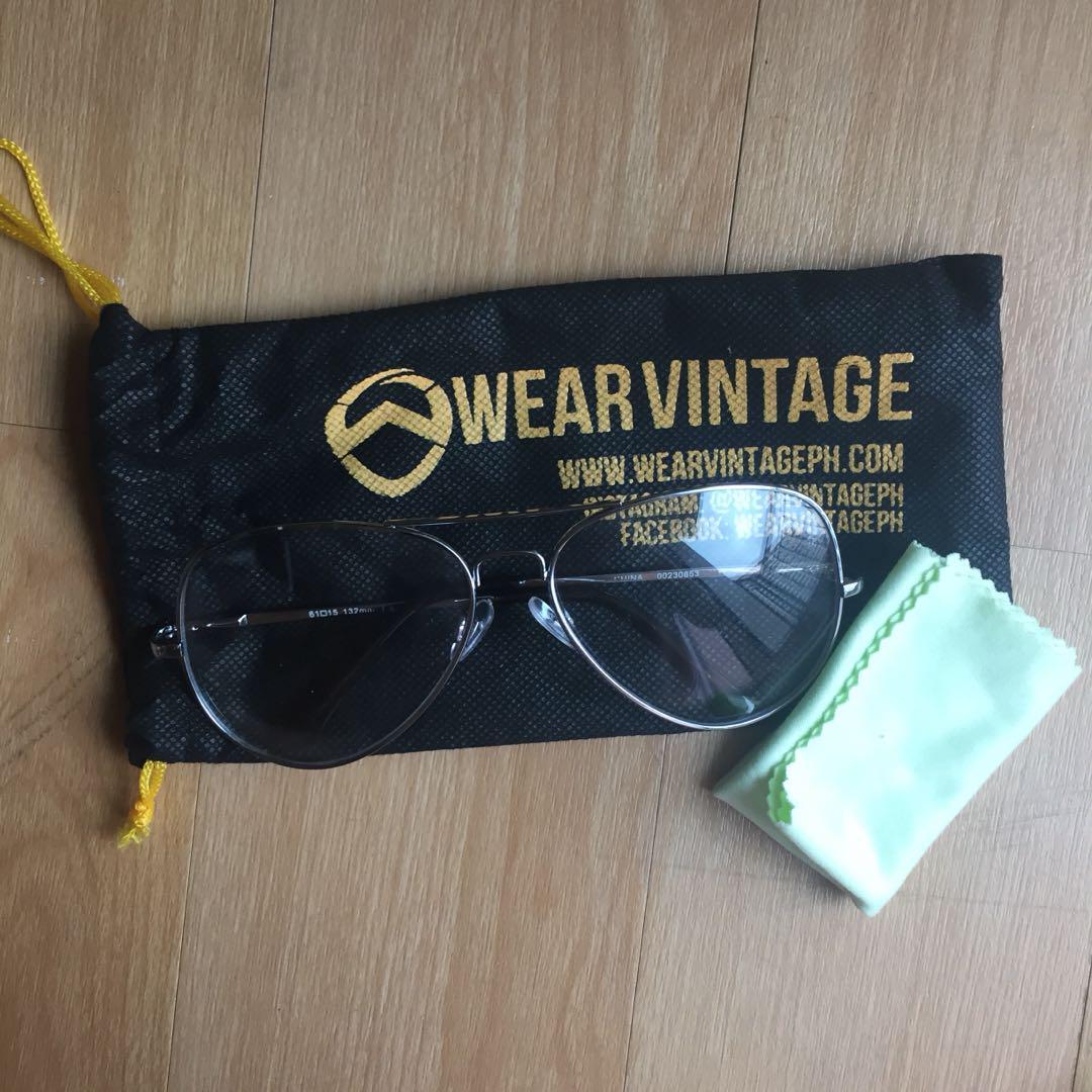 Clear Aviator Specs