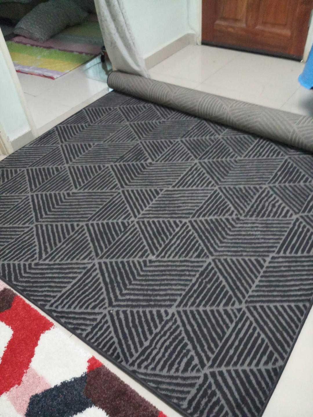 Clearance! IKEA Stenlille rug, Home