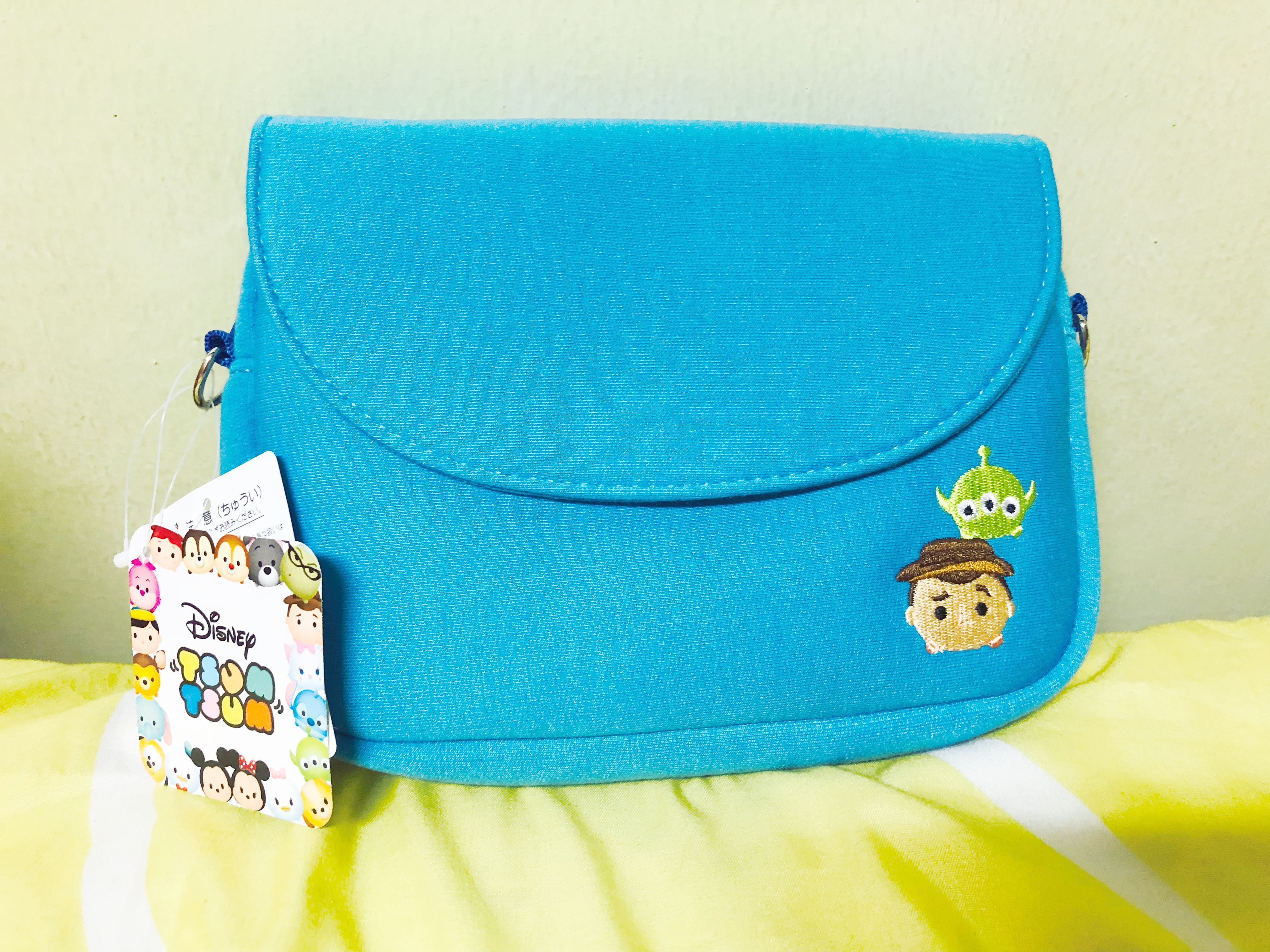 Disney Tsum Tsum Toy Story Sling Bag Pouch, Women's Fashion, Bags & Wallets, Sling Bags on Carousell