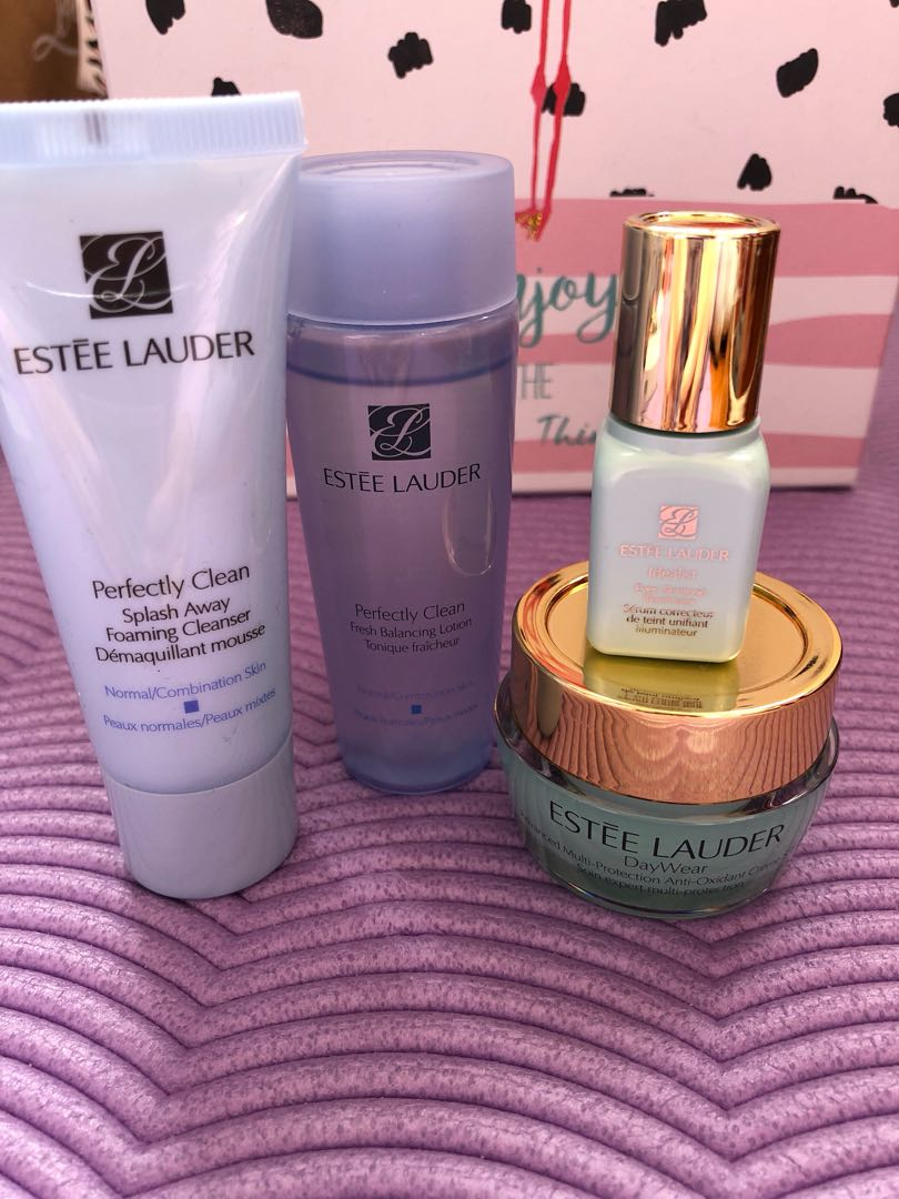 Estēe Lauder skincare range