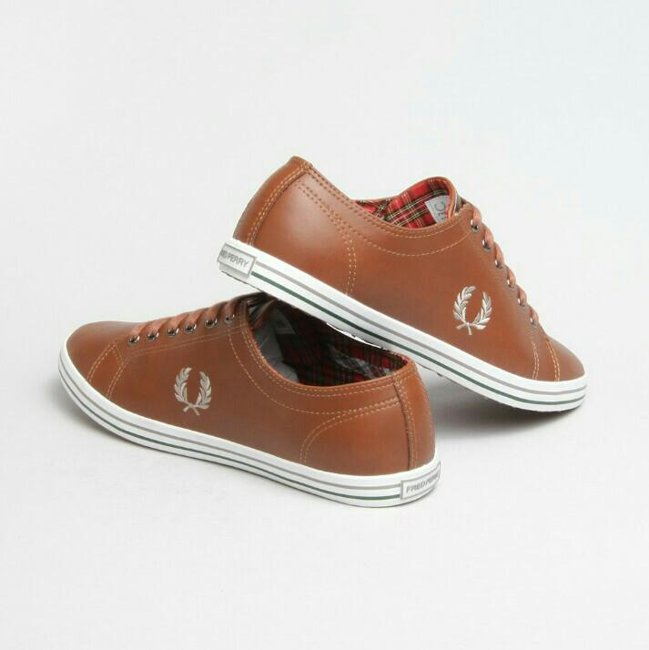 separation shoes the latest new release Fred Perry | Brown Kingston Leather Plimsolls, Men's Fashion ...