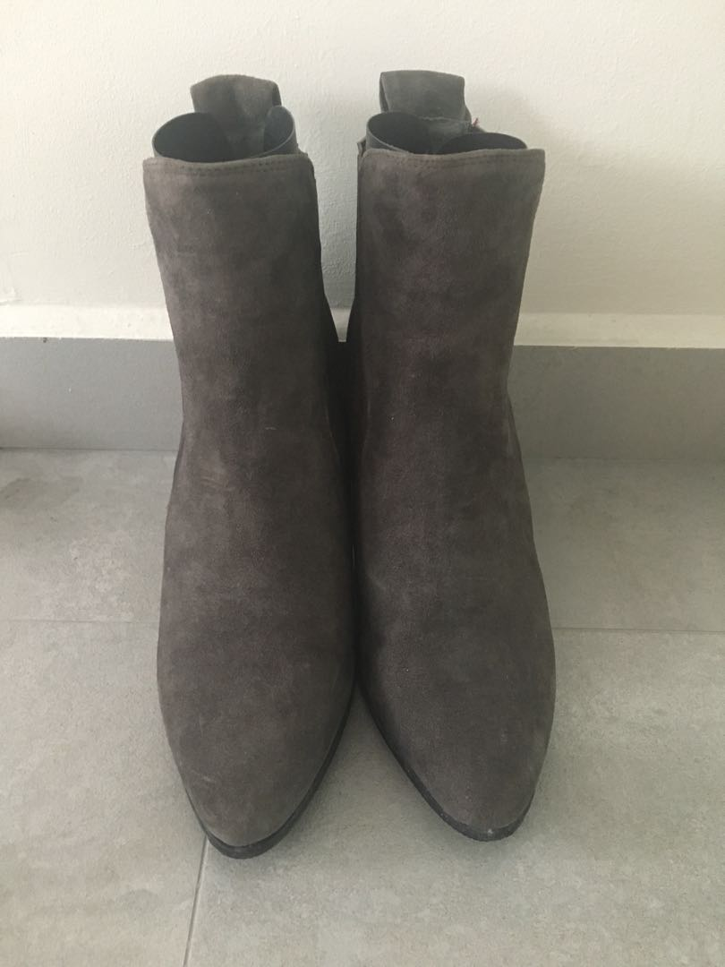eeeda2f99c30 Full Leather Suede Boots
