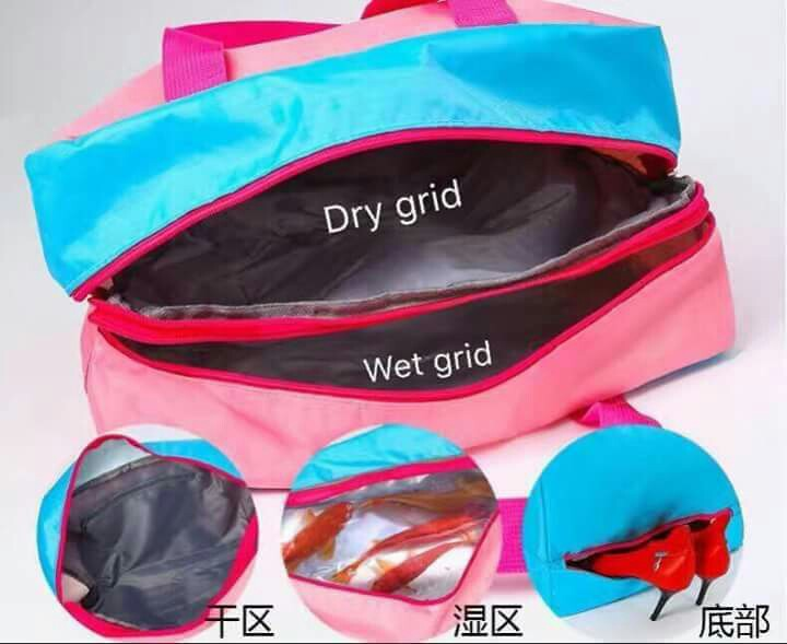 5f68343459f2 GYM BAG (WET   DRY   SHOES SECTION)
