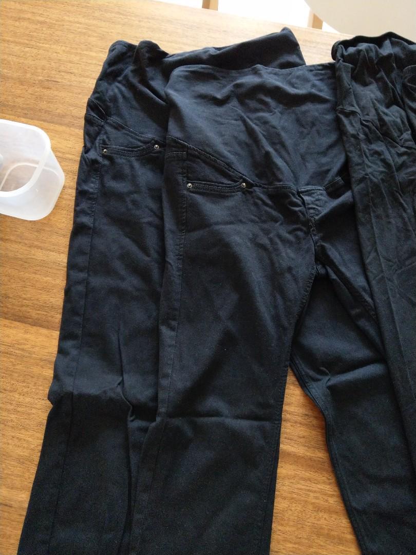 H & m大肚褲,大肚legging及大肚裙,全部共十一件
