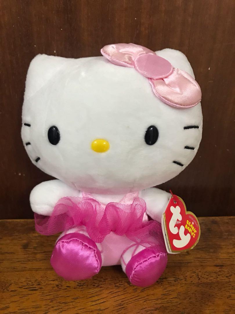 09f22966152 Hello kitty TY beanie babies - ballet girl