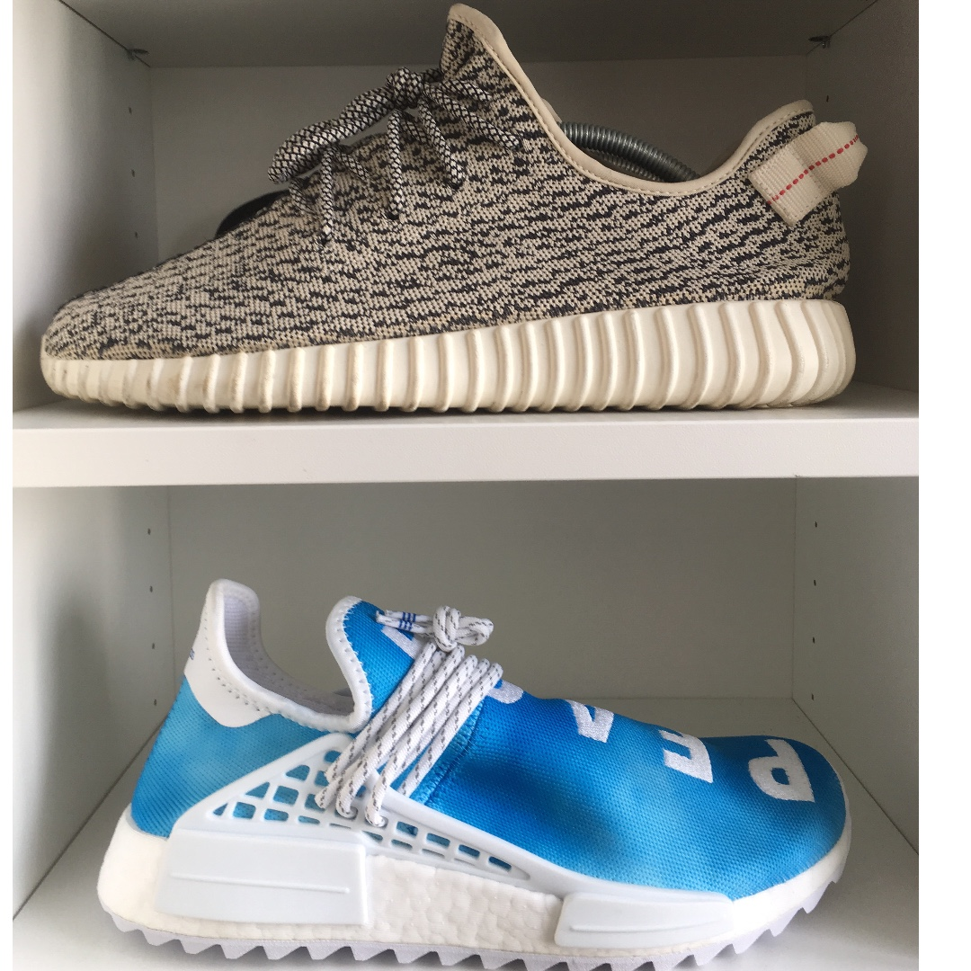 new concept 1b1d5 d8a7e Human Race China Exclusive Blue, Women's Fashion, Shoes ...