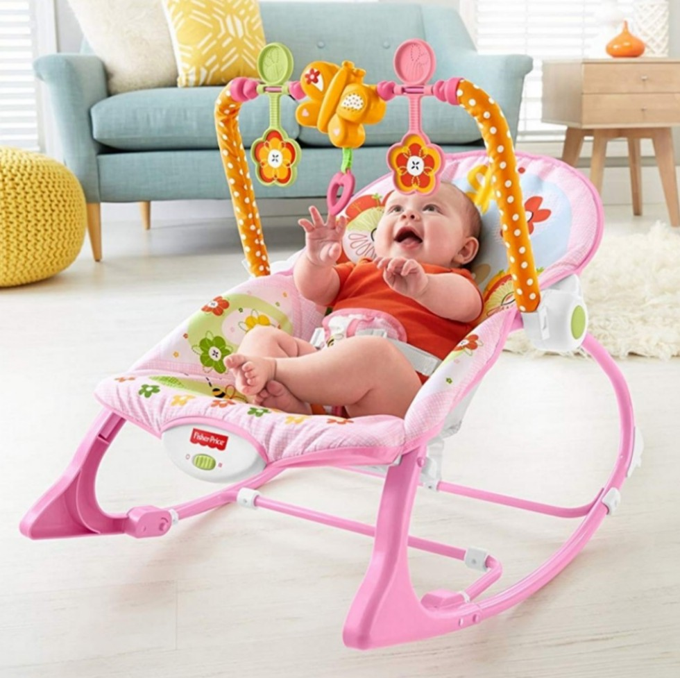 2da305cd152 BN Fisher-Price Infant-to-Toddler Rocker Bouncer