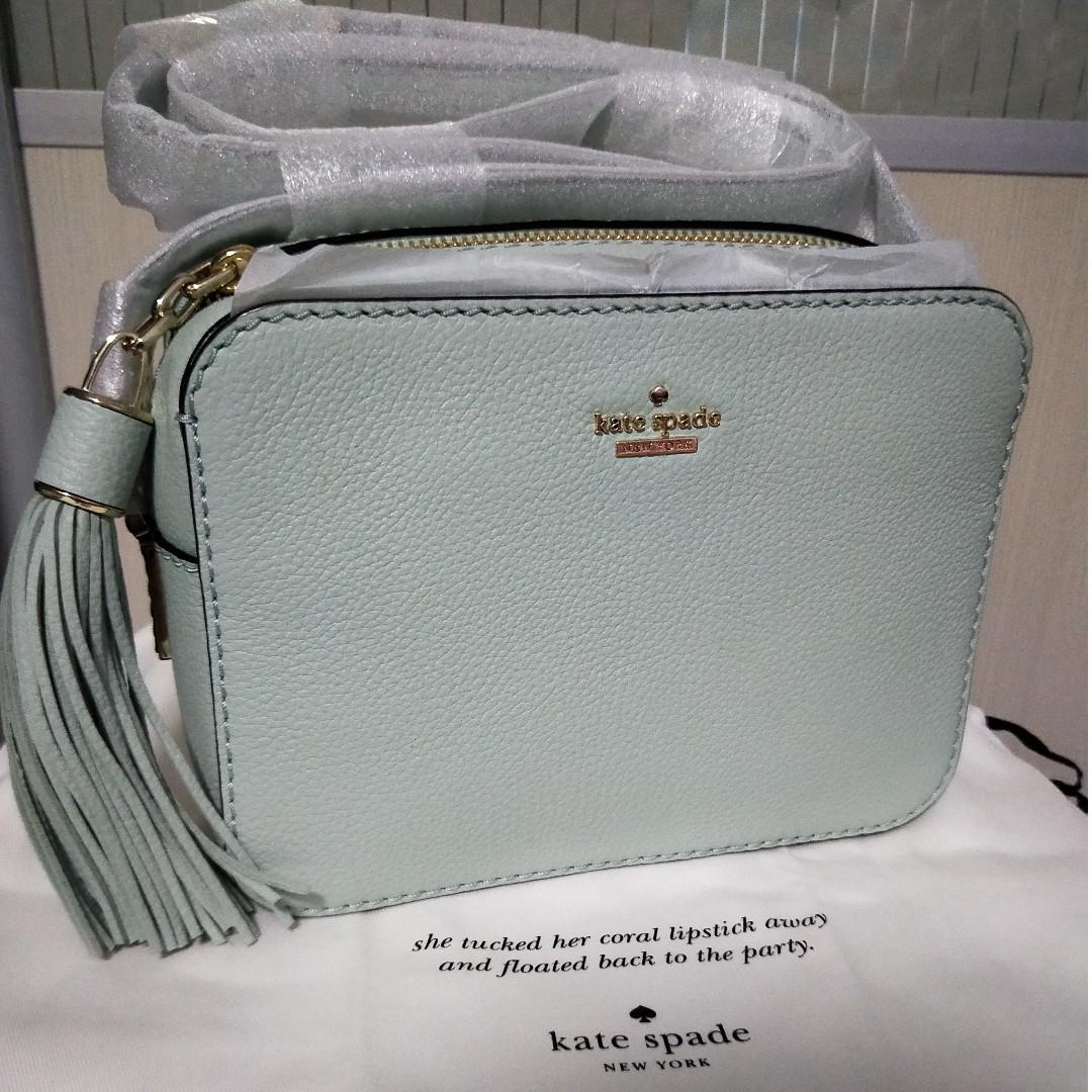 e7156b3690f0 Kate Spade Kingston Drive Arla Camera Bag (Mint)