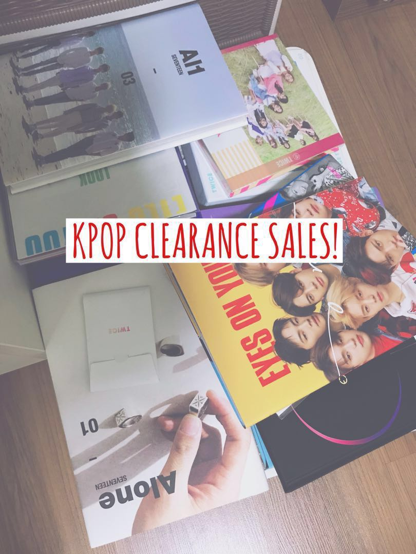 KPOP MASTERLIST SALE!, Entertainment, K-Wave on Carousell