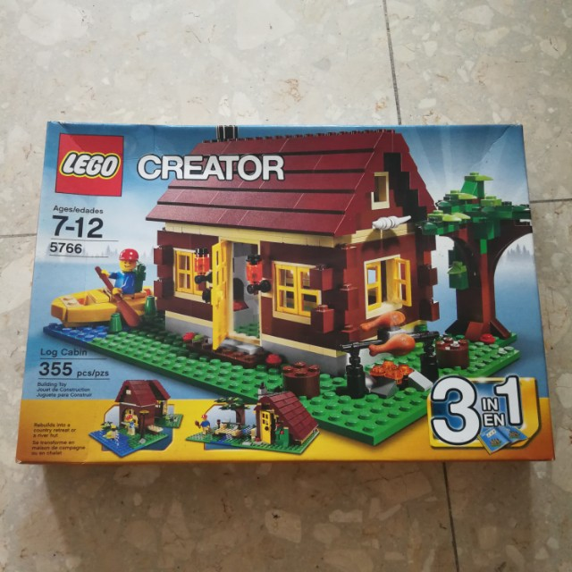 Lego Creator 5766 Log Carbin Toys Games Bricks Figurines On