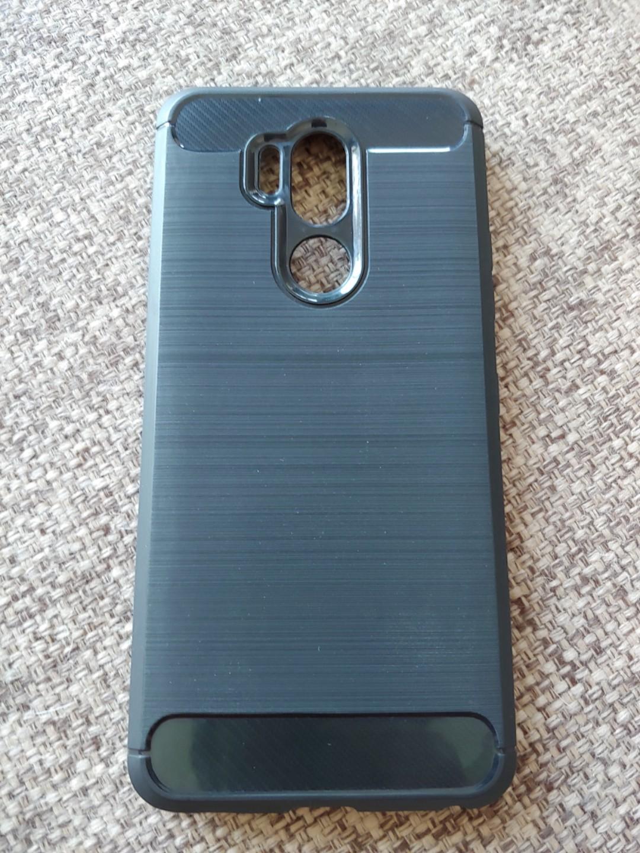 innovative design 93eab 1059f LG G7 ThinQ Slim TPU Bumper Case (Carbon Fiber) #1212