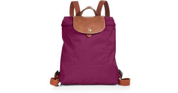 1c16c906ef2 Longchamp Le Pliage Backpack (Dahlia color)