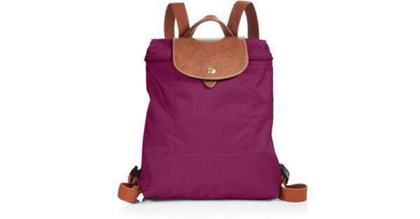 Longchamp Le Pliage Backpack (Dahlia color) 373ea32ac64d4