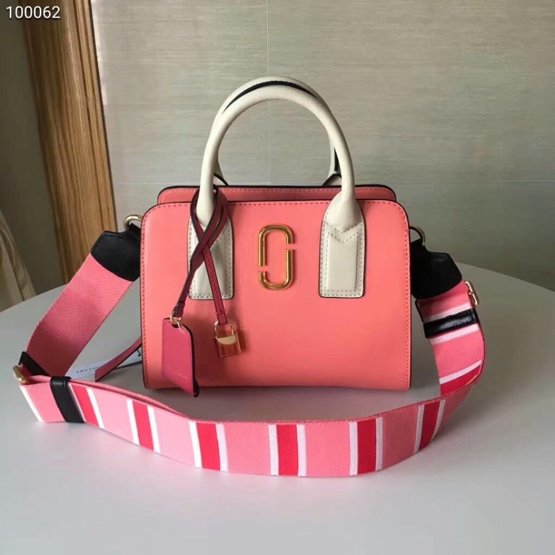 2542b835d9a6ff Marc Jacobs pink hand bag, Women's Fashion, Bags & Wallets, Handbags ...