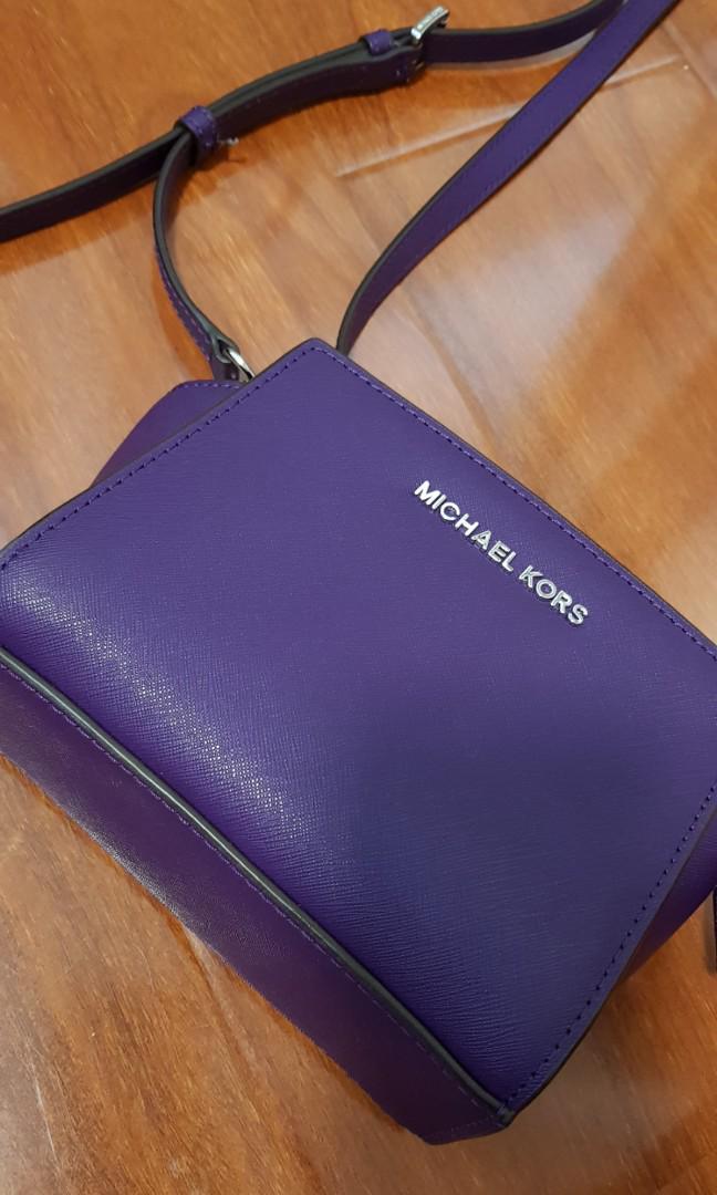 Michael Kors side bag purple