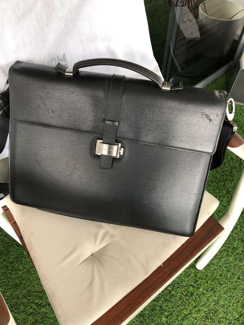 fe886d85f48c8 Montblanc 4810 Westside Double Gusset Briefcase, Men's Fashion, Bags ...