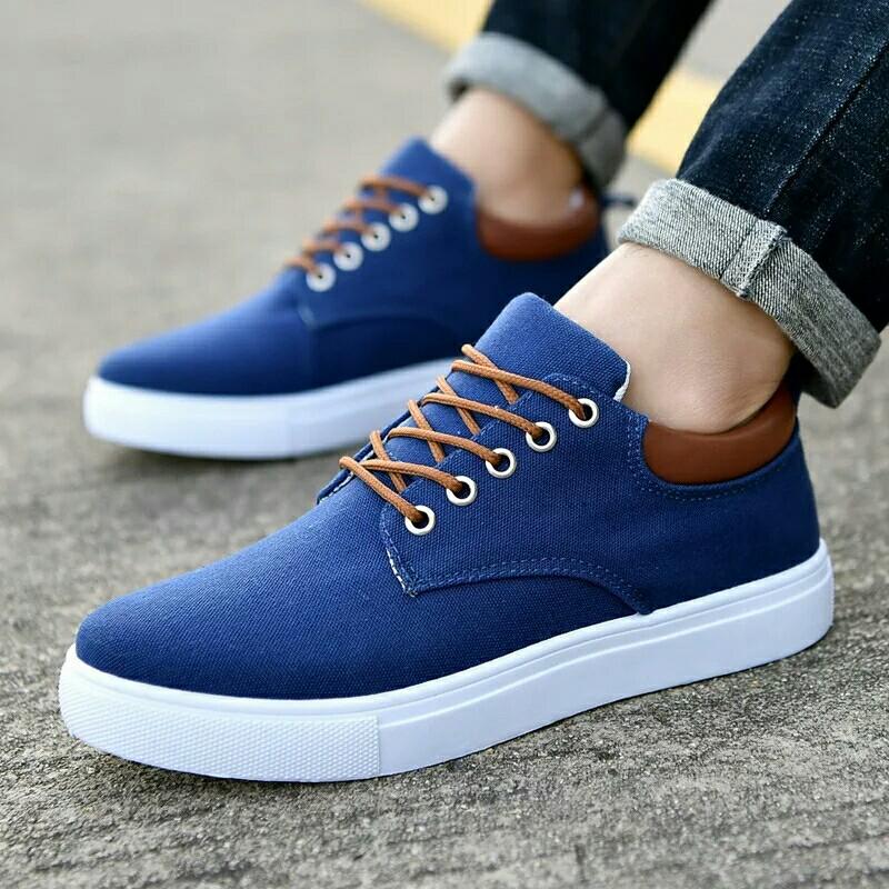 c412677ac4c New Arrival Comfortable Casual Shoes Mens Canvas Shoes For Men Lace ...