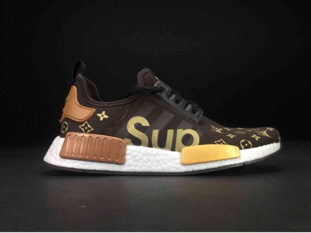 outlet store 53b18 37648 Nmd X Supreme X Louis Vuitton