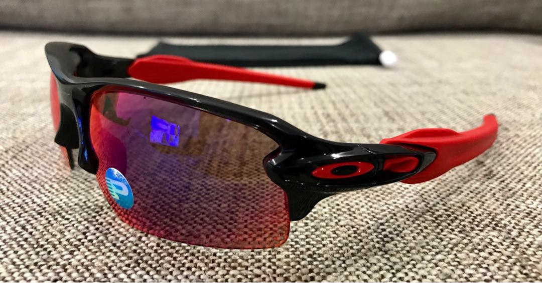 bffad79b5f9 Oakley™ FLAK 2.0 (Black Ink Red Iridium Polarized)