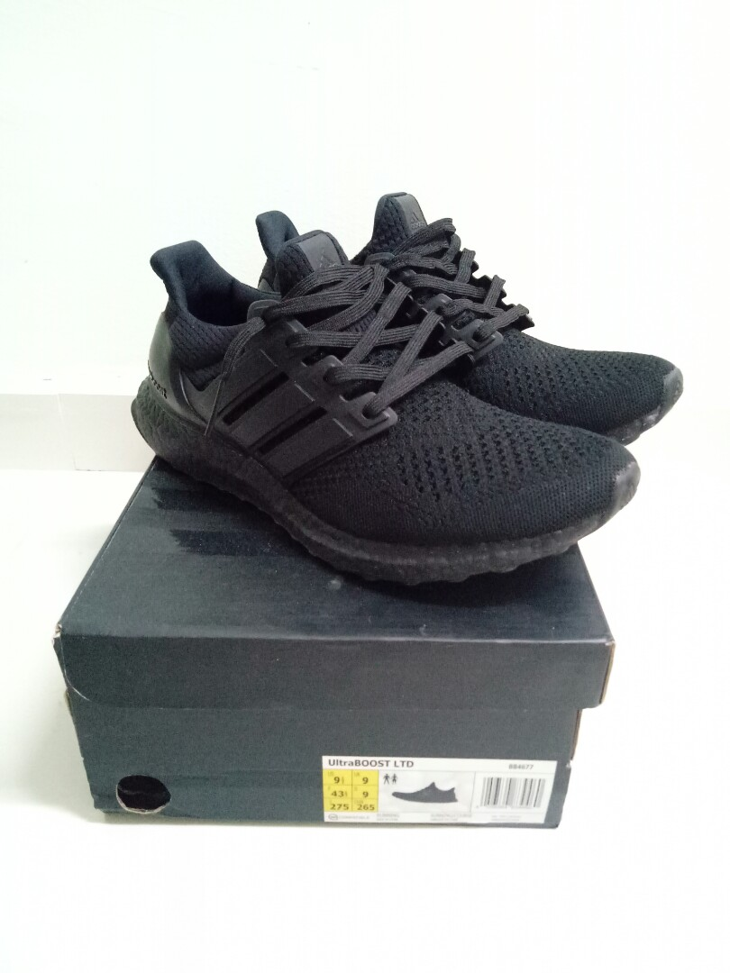 2d2bea3a635b5 PADS Ultra boost triple black 1.0