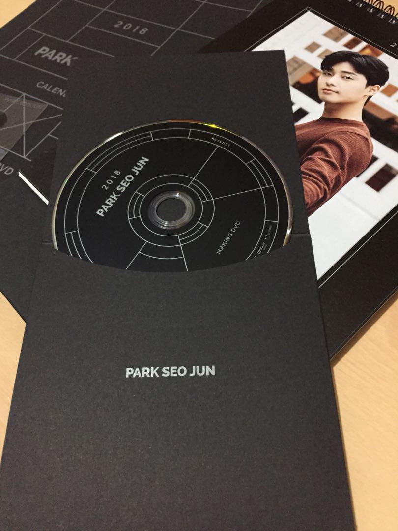 Park Seo Jun Official Calendar (2017+2018)