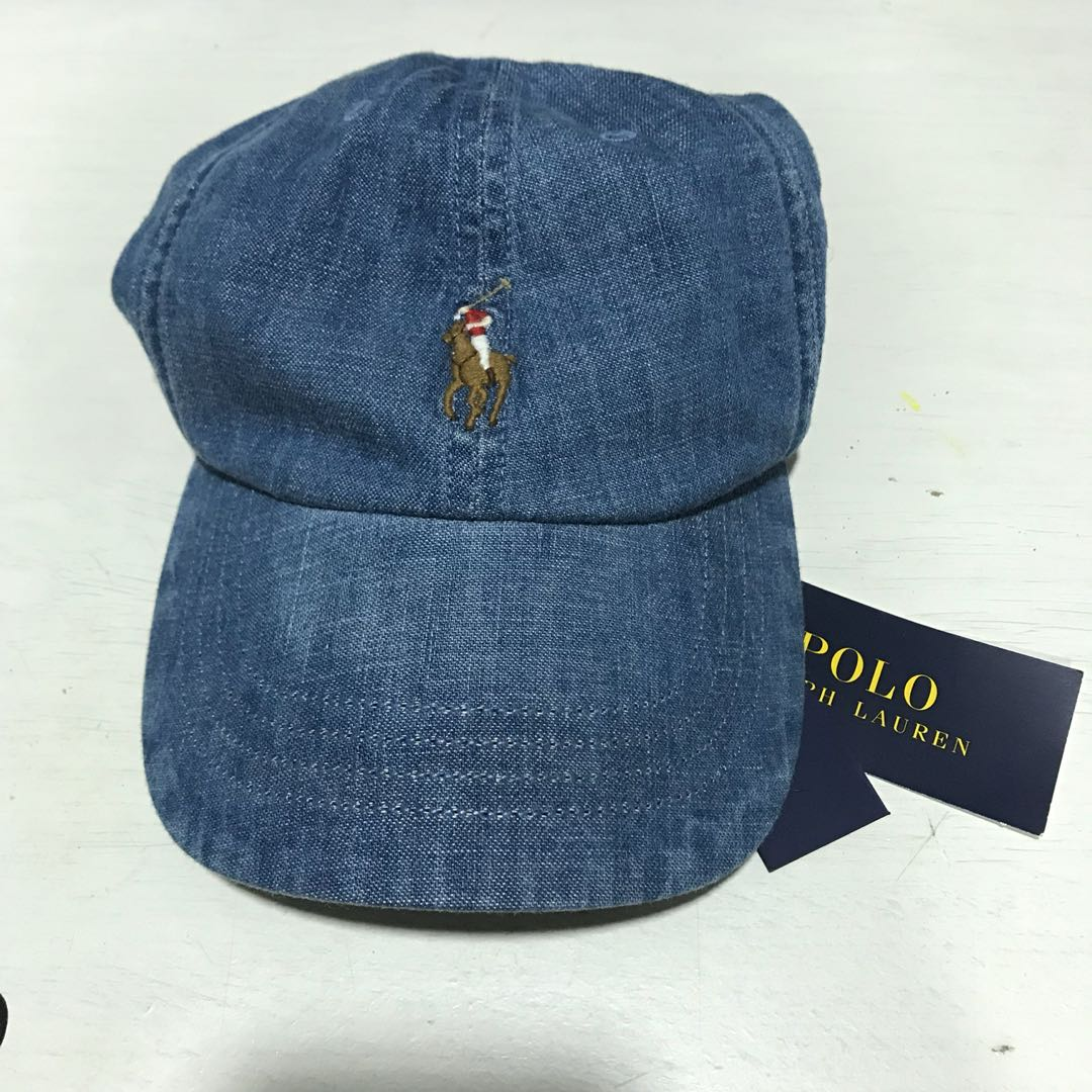11e154a3777 Polo Ralph Lauren Cap denim