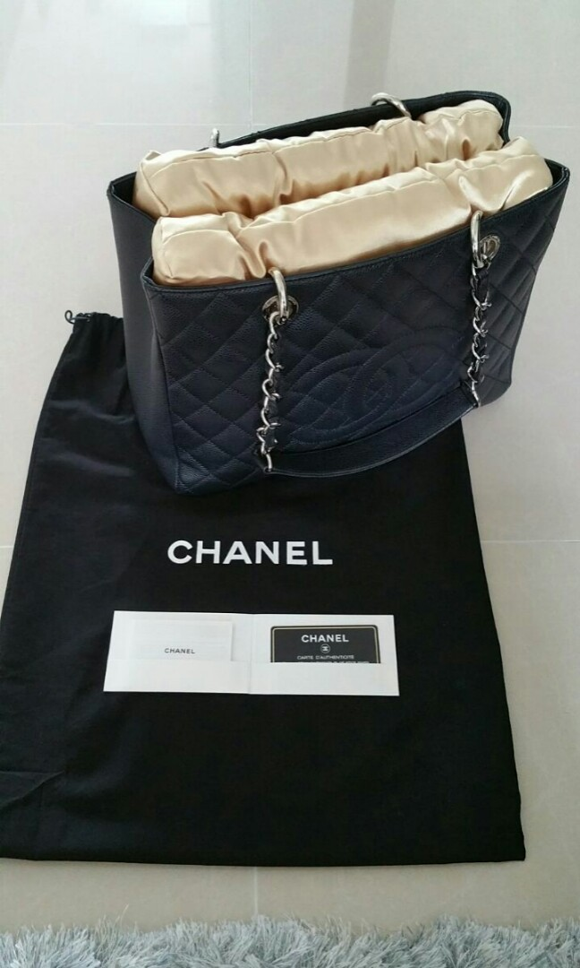 5fec7a4f5c2b Pre-loved Authentic Chanel GST For Sale