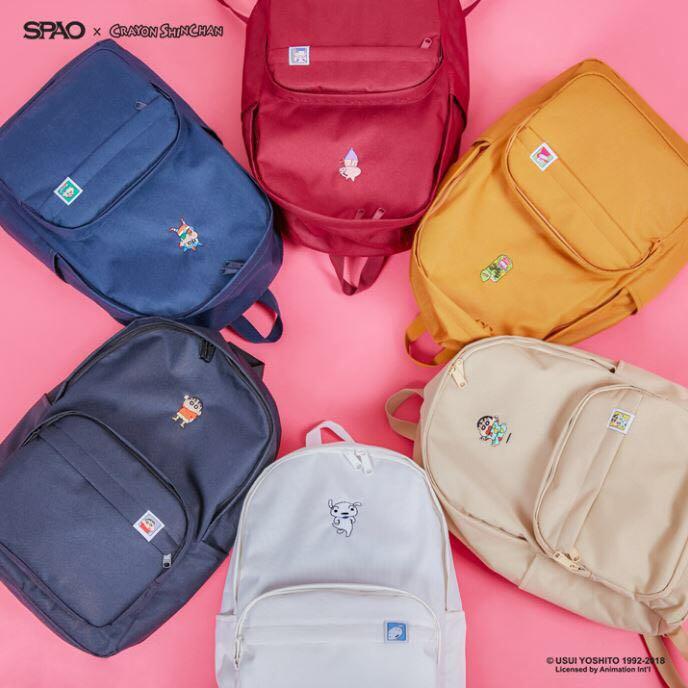 PREORDER SPAO X CRAYON SHINCHAN Backpack 25e56ec0156c7