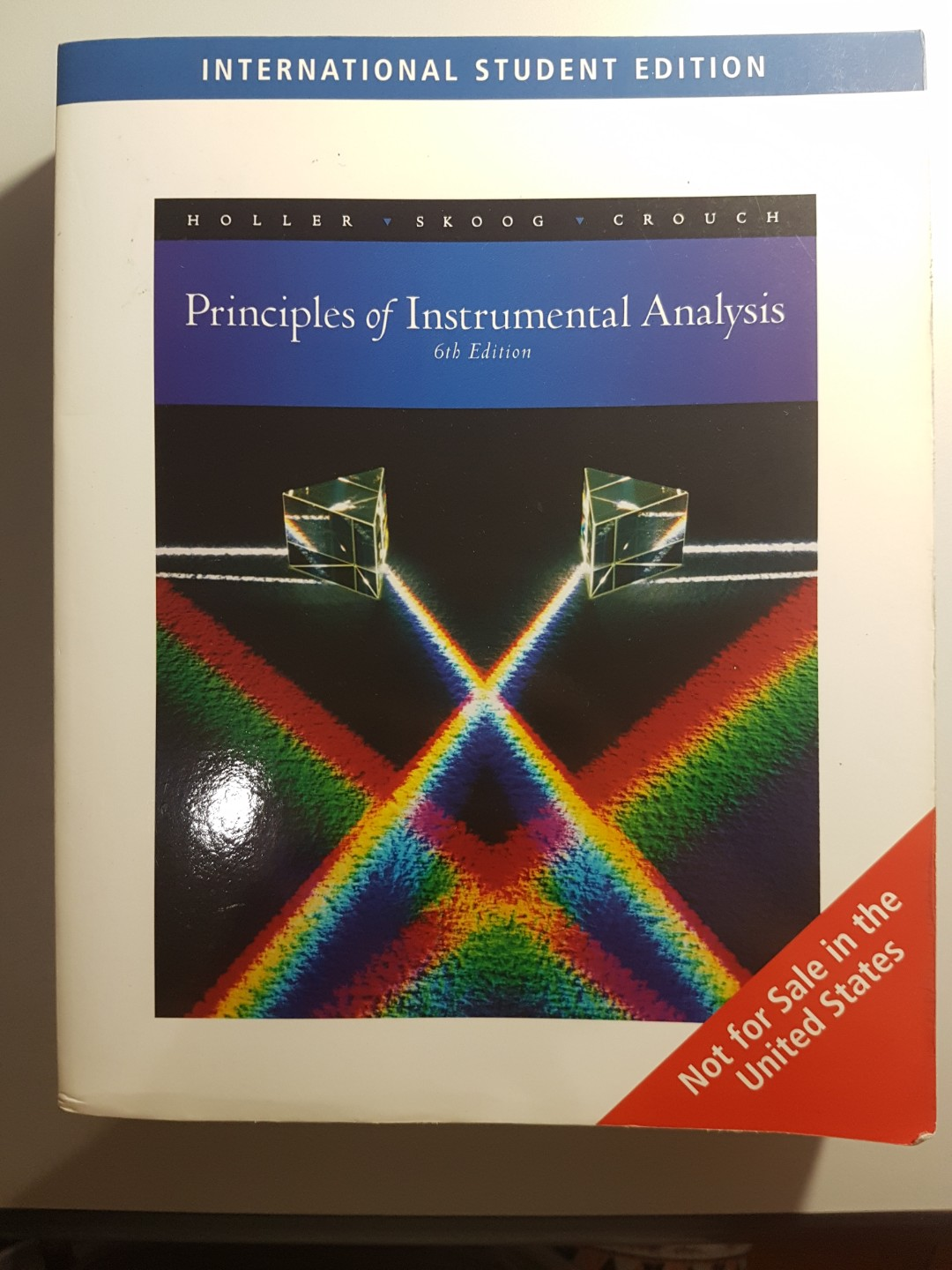 Principles of Instrumental Analysis 6th Edition, Books & Stationery,  Textbooks, Tertiary on Carousell