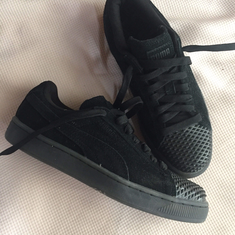 Puma Suede Jelly Black Sneakers, Women