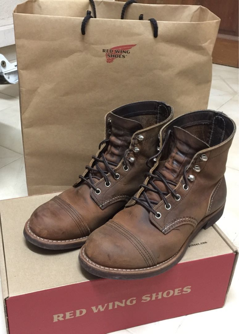 Red Ranger FashionFootwearBoots Iron 8085Men's Carousell Wing On b9IDeWE2HY