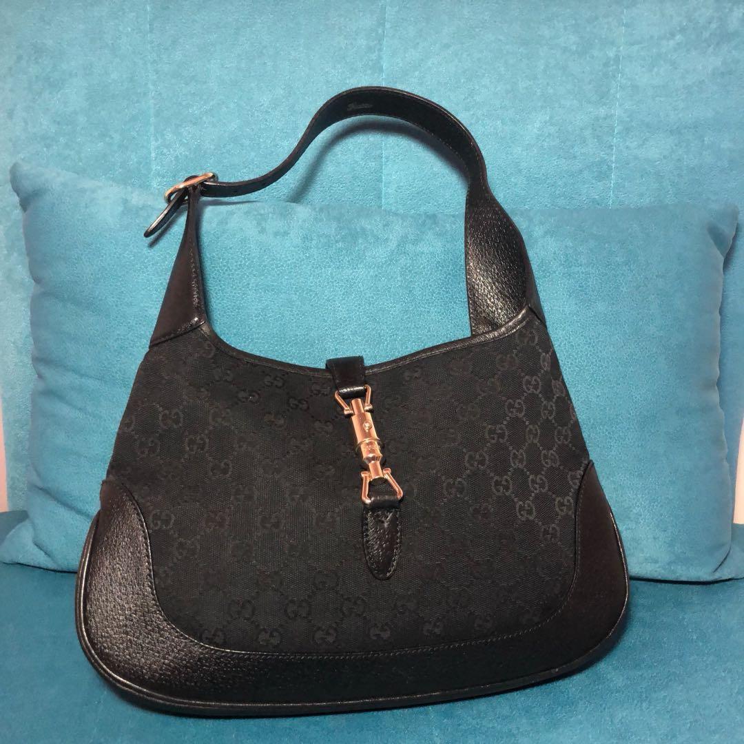 8ea72035495d SALE! Gucci Jackie O Gg Monogram Shoulder Bag, Women's Fashion, Bags ...