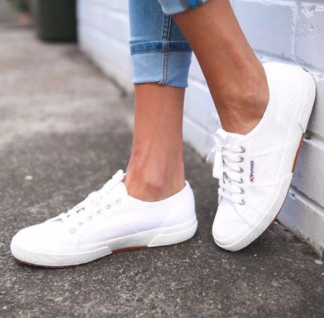 812f70c9 Superga 2750 Cotu Classic White, Women's Fashion, Shoes, Sneakers on  Carousell