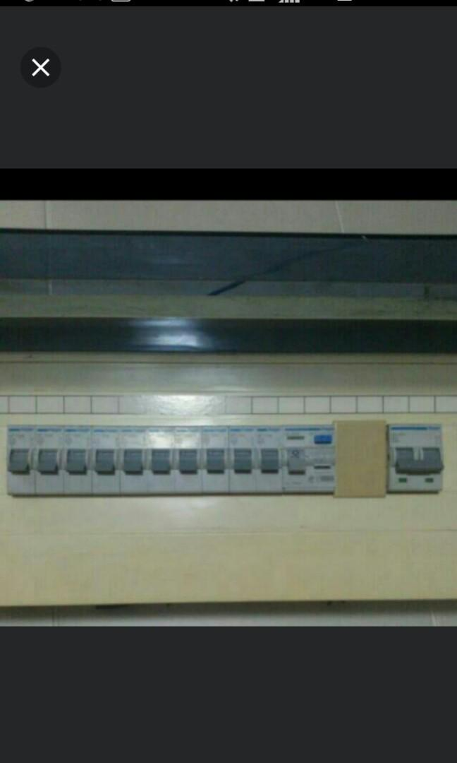 Hager House switch box only used for 2yrs. Electrical ... on