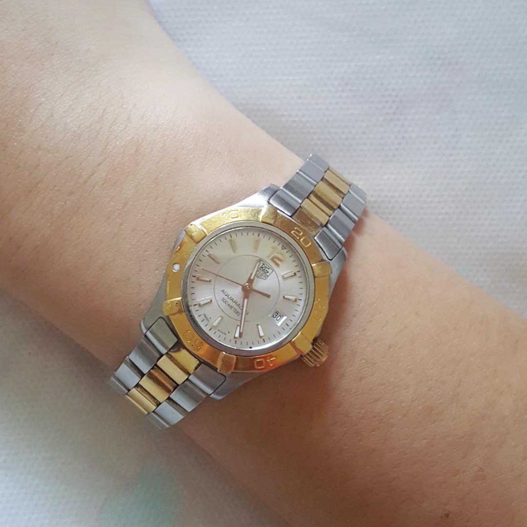 c3bd49b30ca Tag Heuer Aquaracer Lady Quartz Watch (WAF1420)
