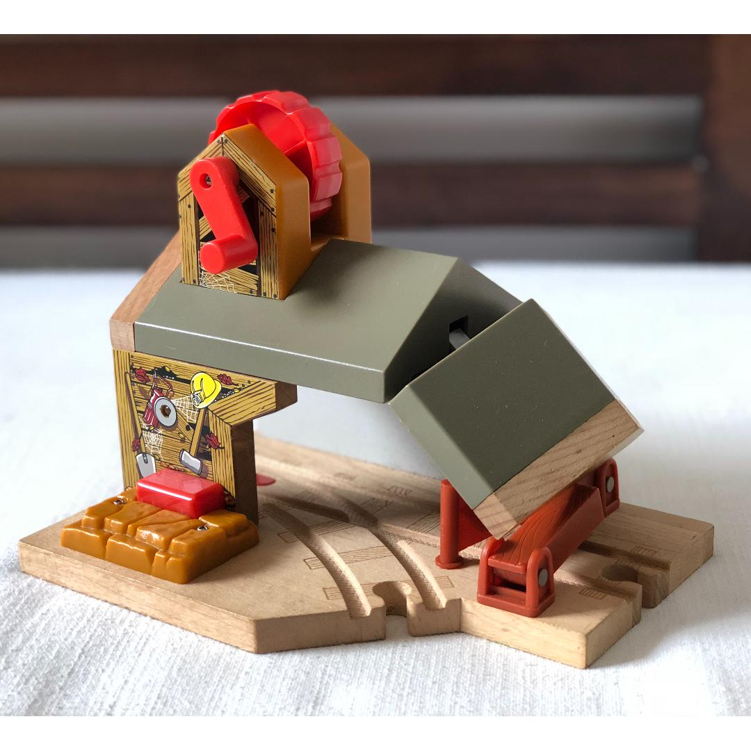 Thomas And Friends Wooden Railway Boulder Mountain Mine Haunted