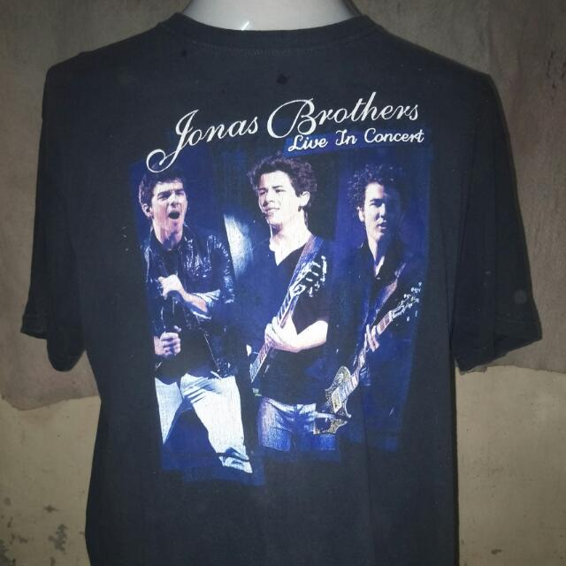 d2264d9f Tshirt Jonas Brother, Men's Fashion, Clothes, Tops on Carousell