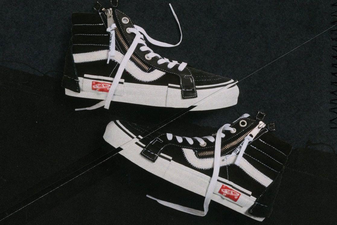 """US 8.5 Vans Sk8 Hi Deconstructed """"Inside Out"""" Virgil Abloh Sneaker 89f54d742"""