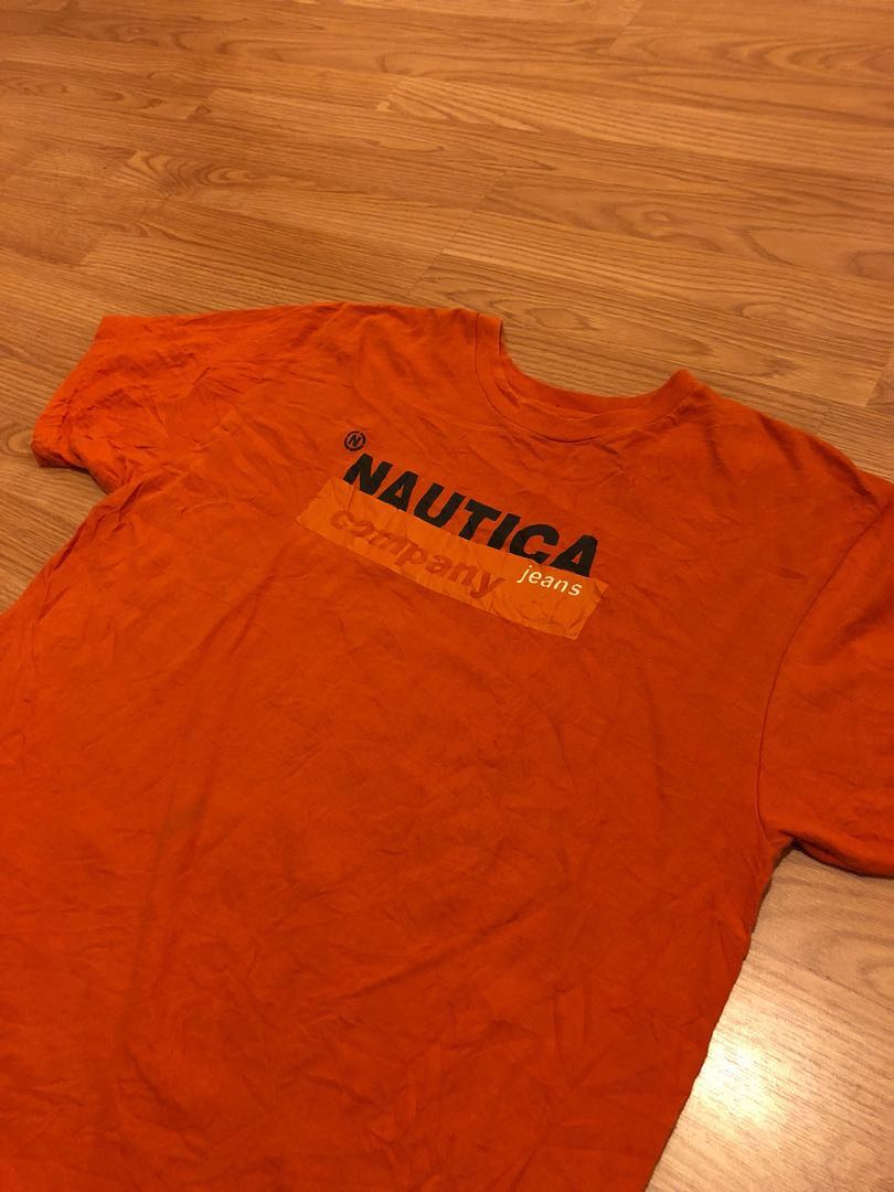 1323adc04 Vintage nautica jeans tee, Men's Fashion, Clothes, Tops on Carousell