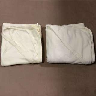 Preloved receiving blanket & towel