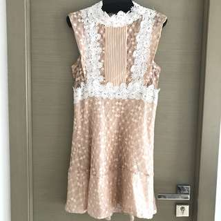 Lace dress 斯文喱士裙