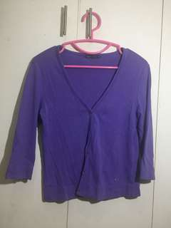 Cute Purple Cardigan