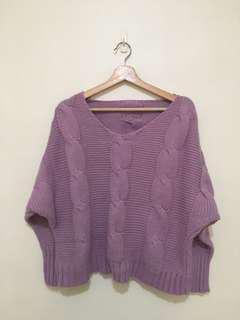 🚚 薰衣草紫毛衣