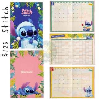 史迪仔Schedule Book