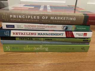Fashion Business FAB/FBM textbooks (Seneca)