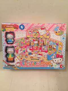Hello Kitty 玩具 ice-cream shop  Sanrio